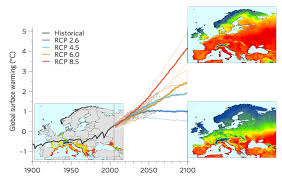 Europe Temperature Map Warming Climate Puts Europe At Risk For Seasonal Outbreaks Of