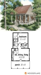 Small House Floor Plans With Loft by Best 25 Guest Cottage Plans Ideas On Pinterest Small Cottage