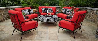 Wrought Iron Patio Furniture by Meadowcraft Quality Wrought Iron Patio Furniture Cushions