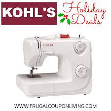 target singer sewing machine black friday kohl u0027s black friday singer sewing machine 44 49