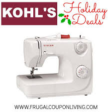 kohls fitbit black friday kohl u0027s black friday singer sewing machine 44 49