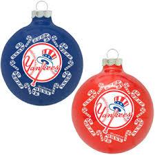 buy set of 12 mlb ny yankees home plate christmas ornaments 3 u0026quot