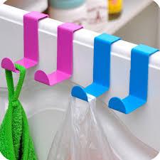 crochet cuisine inox 2 pcs vente chaude s forme sur le crochet de porte armoires de