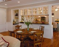 kitchen with dining room designs