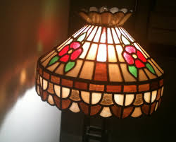 stained glass home decor stained glass chandelier antique or homemade last month