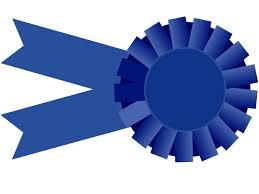 large ribbon blue ribbon large clip at clker vector clip online