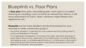 floor plans blueprints blue prints ppt
