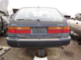 Junkyard Find 1991 Honda Accord Wagon The Truth About Cars