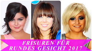 Frisurentrends Kurz 2017 by Frisuren Für Rundes Gesicht 2017