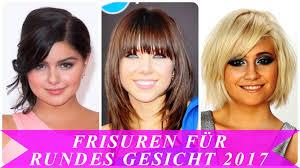 Haarschnitt Lange Haare Rundes Gesicht by Frisuren Für Rundes Gesicht 2017