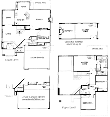 5 bedroom floor plans 2 story vistoso vistas floor plan scenic model