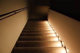 louvered step light cover interior led stair lighting elegant led indoor outdoor step lights