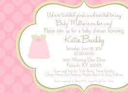 pink monogram dress baby shower invitation card idea for