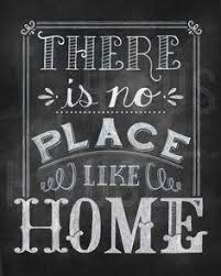 Home Decor Chalkboard Home Is Where The Heart Is Home Decor Wedding Decor Chalkboard Art
