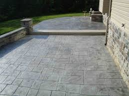 Average Cost Of Flagstone Patio by Cost Of Concrete Patio Per Sq Ft
