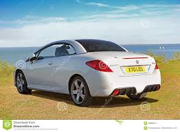 peugeot convertible peugeot 308cc convertible editorial photography image of