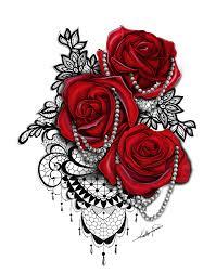 black lace u0026 blue rose tattoos pinterest blue roses black