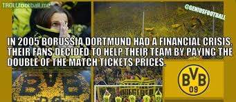 best fans in the world bvb fans the best fans in the world troll football