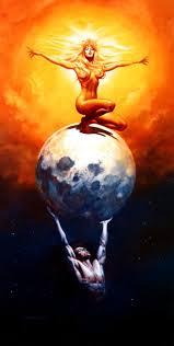 boris vallejo the sun and the moon 1987 my voyage through