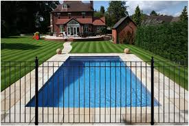 backyards mesmerizing best wrought iron swimming pool fencing
