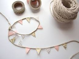 five minute crafts diy washi tape bunting gathering beauty