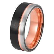 gold wedding band mens mens gold wedding band tungsten wedding rings
