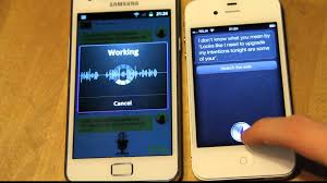 Iris by Siri Meets Iris Samsung Galaxy S2 Vs Iphone 4s Voice Technology