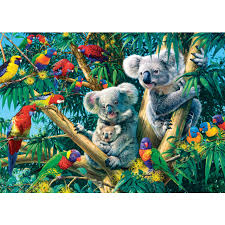 canap kaola glow in the images koala c jigsaws puzzle