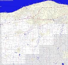 Road Map Of Ohio by Bridgehunter Com Lorain County Ohio