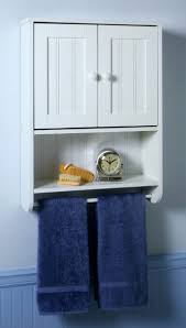 Metal Bathroom Shelving Unit by Bathroom Cabinets Bathroom Wall Cabinet With Towel Bar Wooden
