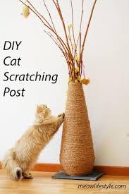 Cat Scratch Lounge Best 25 Cat Scratching Post Ideas On Pinterest Diy Cat