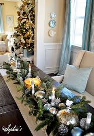 Blue Christmas Decorations Table by 64 Best Unique Christmas Decor Images On Pinterest Christmas
