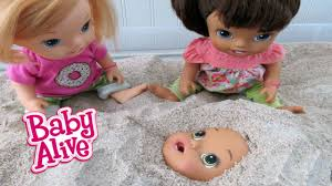 My Toxic Baby Documentary Watch Baby Alive Babies Play In Sandbox Youtube