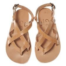 children sandal handmade greek sandal leather sandal natural