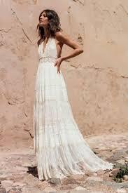 bohemian wedding dress bohemian wedding dress with feminine touch fabmood wedding