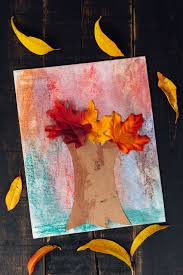 7 fall leaf crafts for kids