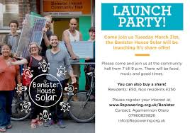 Banister House Banister House Solar Launch Event U2013 Repowering London