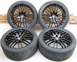 porsche cayenne black rims 22 porsche cayenne rs spyder style black wheels tires