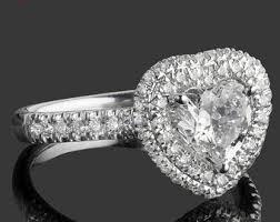 heart shaped diamond engagement ring 1 70 carat heart shaped diamond engagement ring heart cut