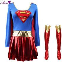 Halloween Costumes Supergirl Kupuj Wyprzedażowe Costume Supergirl Od Chińskich Costume