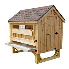 cottage style 4x6 chicken coop up to 15 chickens from my pet chicken