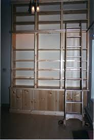 Rolling Bookcases Simple Rolling Ladders For Bookcases Amazing Home Design Marvelous