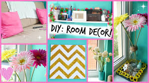 Diy Furniture Ideas by Diy Easy Room Decor Ideas Youtube