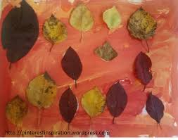 simple leaf art projects for kids pinterest inspiration