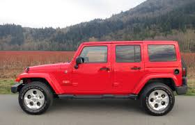 Jeep Rubicon Canada Suv Review 2015 Jeep Wrangler Unlimited Sahara Driving