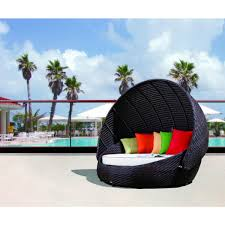 Outdoor Wicker Patio Furniture Round Canopy Bed Daybed - contemporary u0026 luxury furniture living room bedroom la furniture