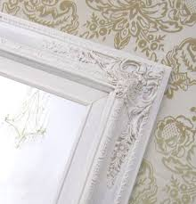 French Country Wallpaper by Ivory Framed Mirror Vanity Mirrors For Sale French Country