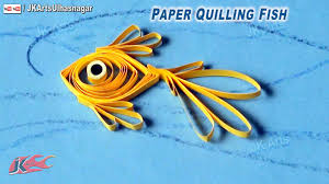 diy paper quilling fish how to make under the sea creature jk