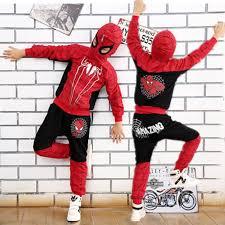Anime Halloween Costumes Comic Spiderman Costume Red Black Spider Man Anime Cosplay