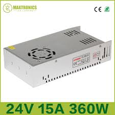 Jual Lu Neon Dc 12 Volt 24v 15a 360w universal regulated switching power supply for cctv led
